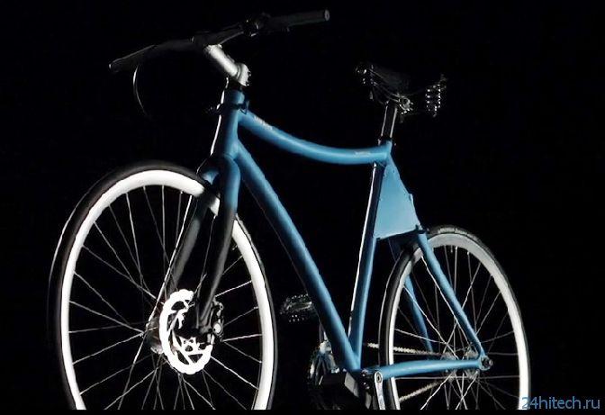 Samsung Smart Bike: концепция «умного» велосипеда с педальным приводом