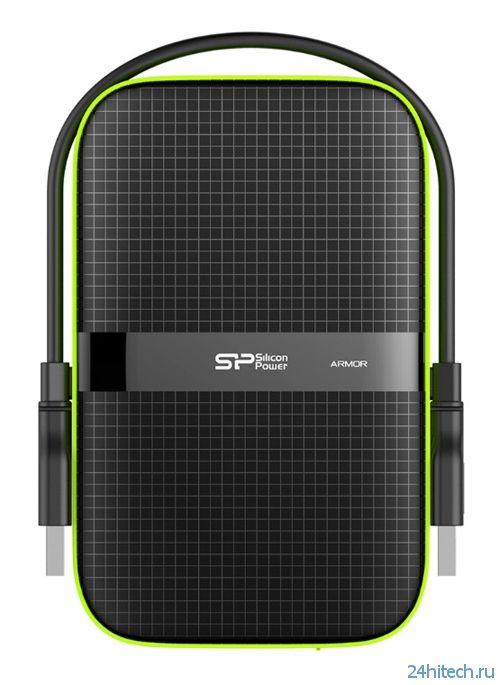 Silicon Power Armor A60: портативный винчестер в защищённом исполнении