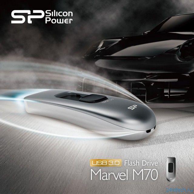 Silicon Power Marvel M70 - стильный и высокоскоростной флэш-накопитель