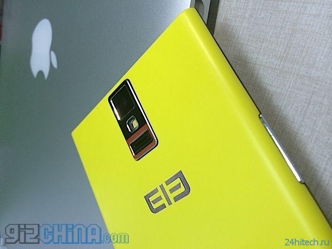 Смартфон Elephone P2000: первое устройство на чипе MediaTek, получившее биометрический сканер