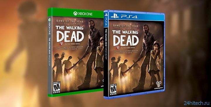 The Wolf Among Us и оба сезона The Walking Dead выйдут на PS4 и Xbox One