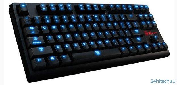 Tt eSports POSEIDON ZX - игровая механическая клавиатура
