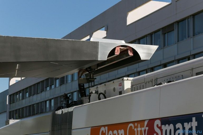 В Женеве появится уникальная система электрических автобусов TOSA