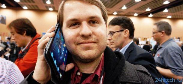 В России каждый второй желающий купить смартфон выбирает фаблет
