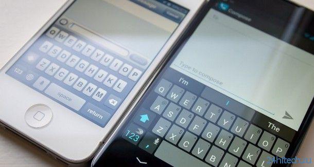 В iOS 8 разработчики смогут встраивать сторонние виртуальные клавиатуры