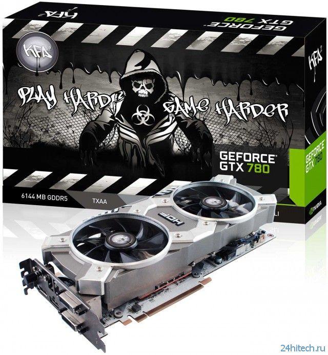 Видеокарта KFA2 GeForce GTX 780 HOF OC+ с поддержкой 6 ГБ памяти