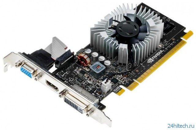 Видеокарта NVIDIA GeForce GT 730 для систем начального уровня и HTPC