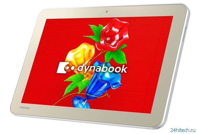 Windows-планшет Toshiba Dynabook Tab S50 оснащён 10,1-дюймовым экраном