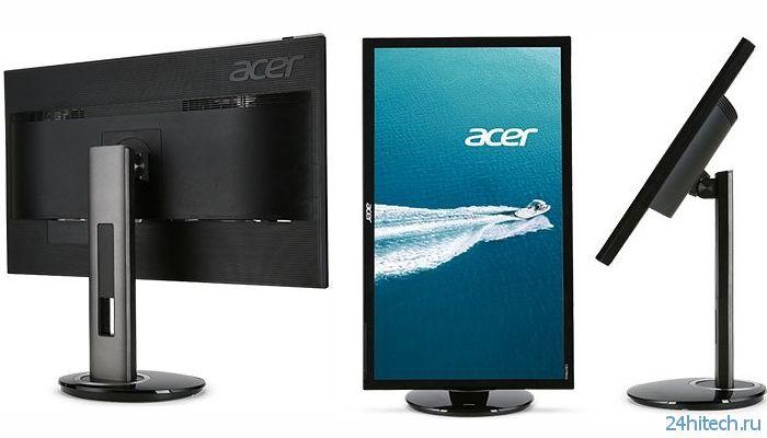 Acer CB280HK: монитор формата 4K с диагональю 28 дюймов