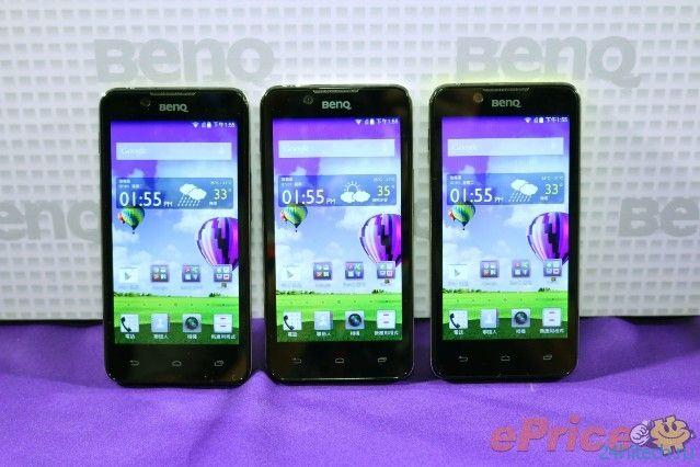 BenQ вернулась на рынок смартфонов с 4G-моделями F5 и T3