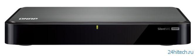 Бесшумный сетевой накопитель QNAP HS-251 появился в продаже