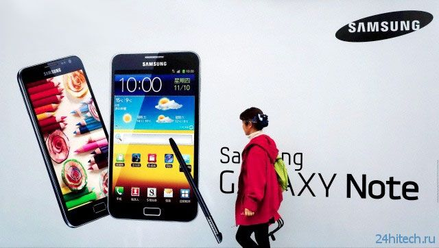 Фаблет Samsung Galaxy Note 4 может получить 64-битный процессор