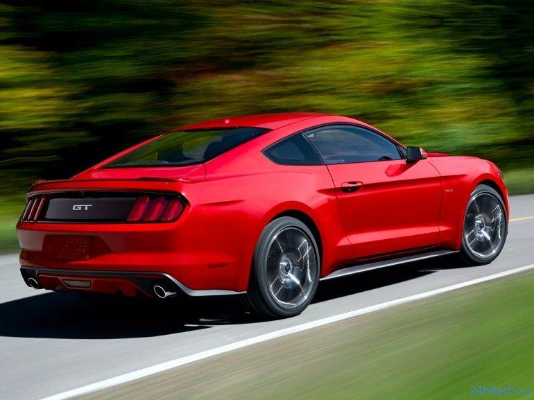 Ford Mustang 2015: новый дизайн и 435 лошадиных сил мощности