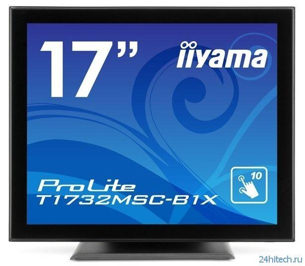 Iiyama представила сенсорные мониторы с соотношением сторон 5:4