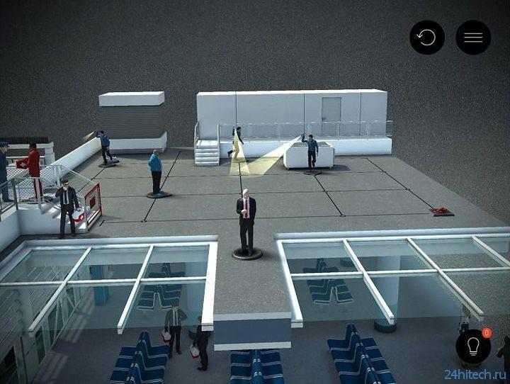 Контентное обновление Hitman Go: Airport вышло на Android