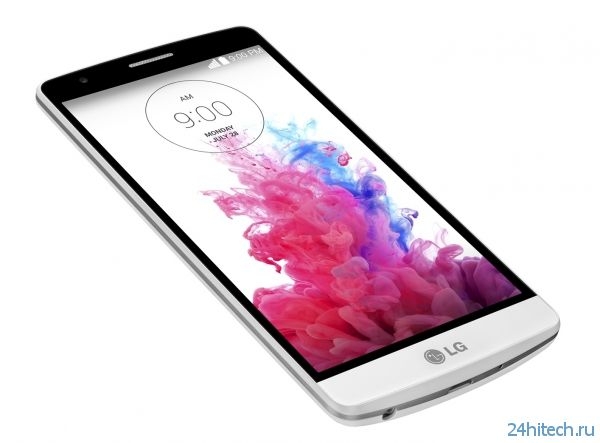 LG представила мини-флагман LG G3 s (LG G3 Beat)