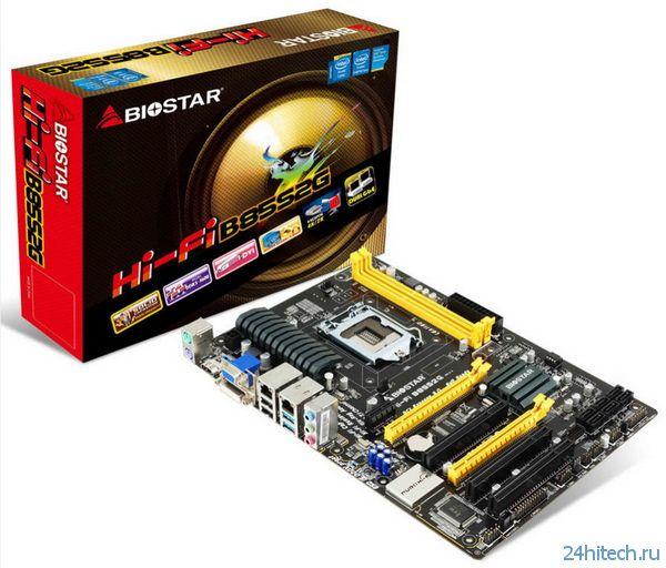 Материнская плата Biostar Hi-Fi B85S2G с высококачественной звуковой подсистемой