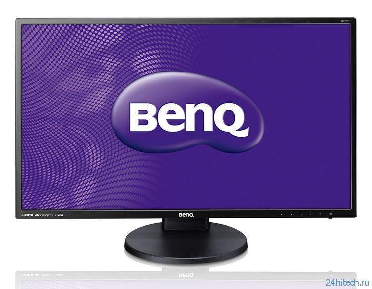 Монитор BenQ BL2700HT выполнен на панели AMVA+