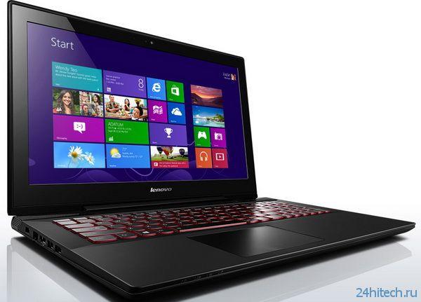 Ноутбук Lenovo Y50 с 4K Ultra HD-дисплеем