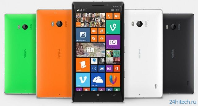 Новый флагманский смартфон Nokia Lumia 930 уже в продаже в Украине