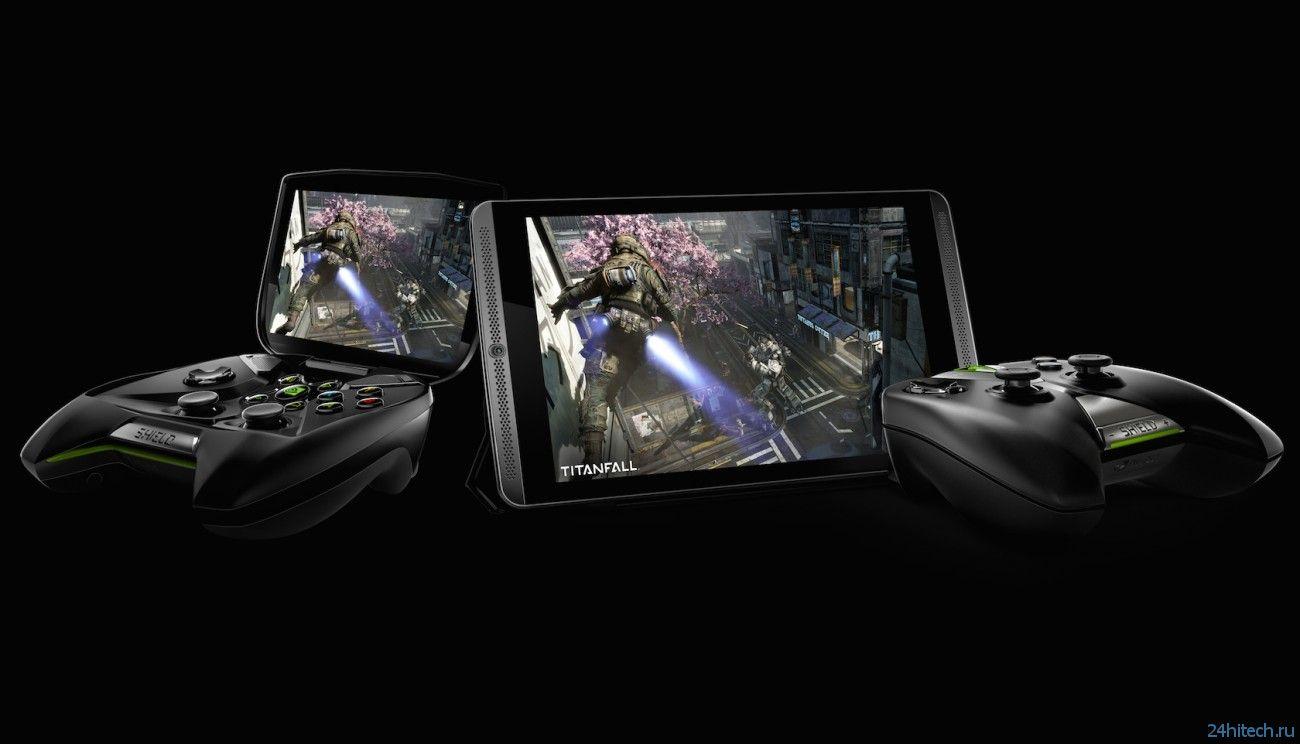 Nvidia представила геймерский планшет Shield Tablet с контроллером