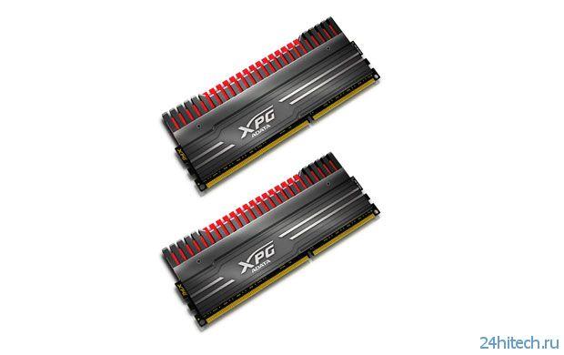 Оперативная память ADATA XPG V3 для оверклокеров с заявленной поддержкой частоты DDR3-3100 МГц