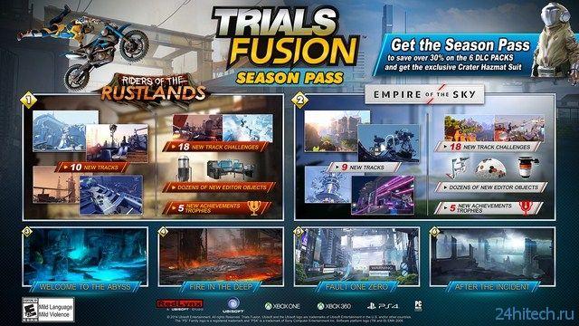 Первое дополнение к Trials Fusion выйдет 29 июля