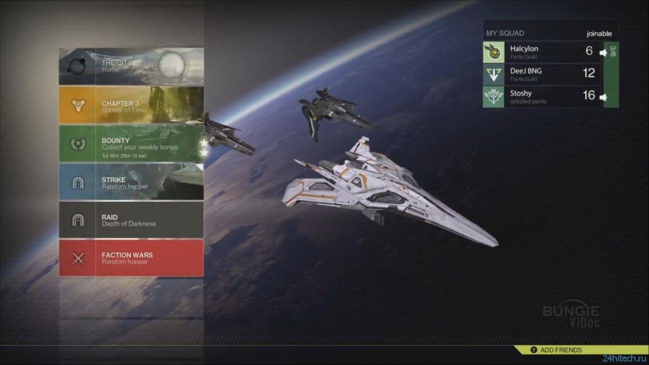 Первые впечатления от бета-версии игры Destiny