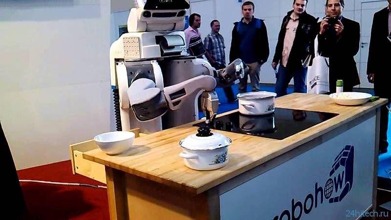 Проект «RoboHow» откроет роботам новые знания и алгоритм их практической реализации