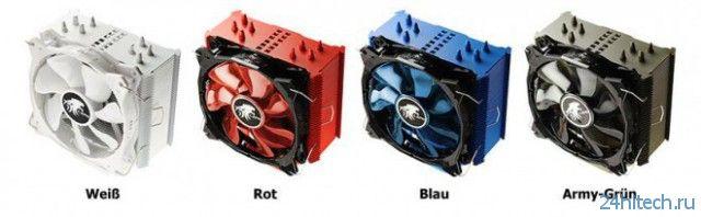Процессорный кулер LEPA LV12 будет доступен в нескольких цветах
