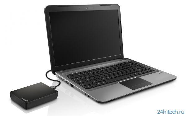 Seagate выпустила портативный накопитель объемом 4 Тбайт