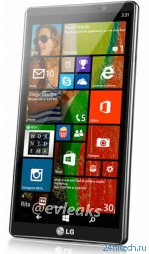 Смартфон LG D635 на Windows Phone 8.1 готовят к анонсу