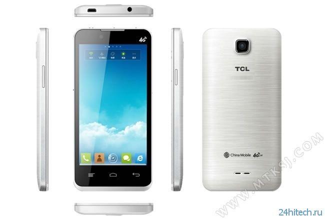 TCL представила самые доступные LTE-смартфоны со стоимостью  и