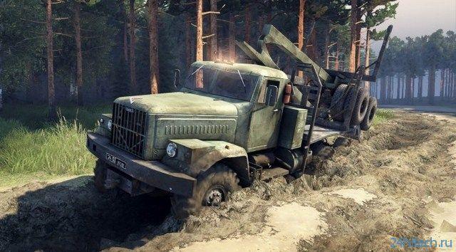 Тираж симулятора грузовиков Spintires превысил 100 тыс. копий