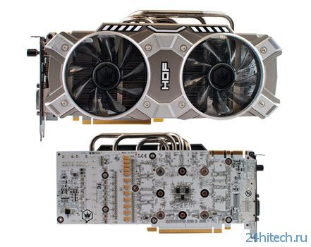 Видеокарта KFA2 GeForce GTX 780 HOF+ 3GB с высоким заводским разгоном