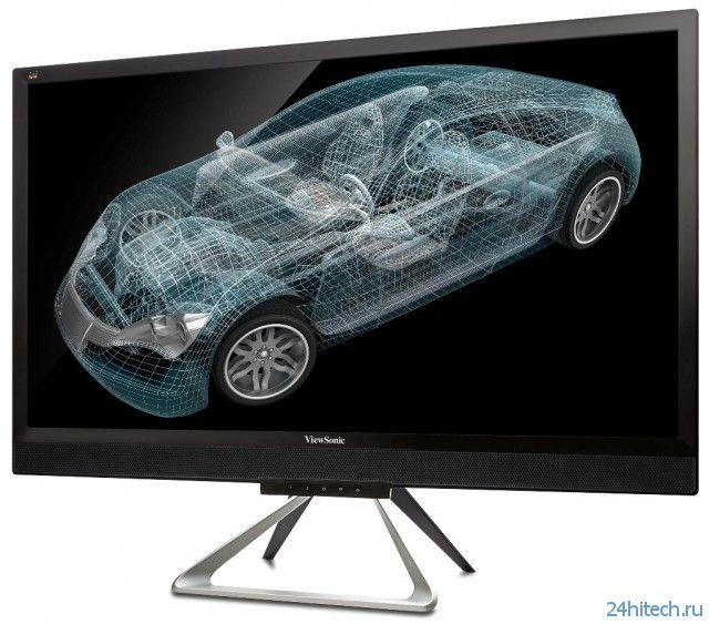 """ViewSonic VX2880ml – 28"""" монитор с поддержкой разрешения 4K Ultra HD"""