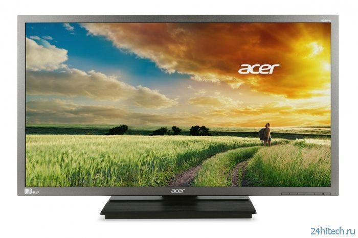 Acer B286HK: 28-дюймовый монитор формата UHD