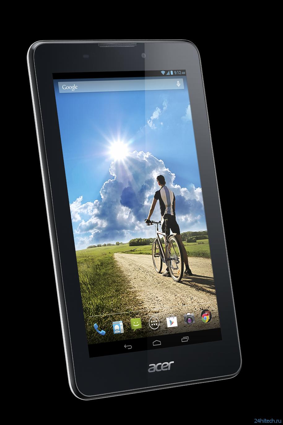 Acer Iconia Tab 7 — мощный планшет и телефон в одном устройстве