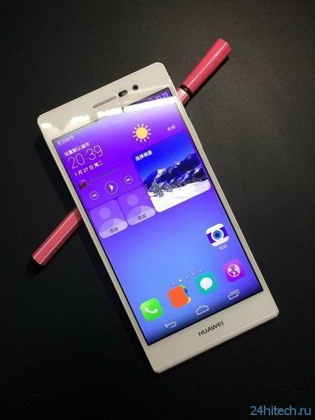 Huawei намерена оснастить смартфон Ascend P7S платформой HiSilicon Kirin 920 и сапфировым стеклом