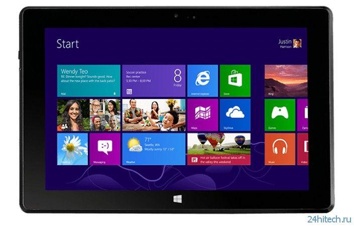 MSI анонсировала Windows-планшет S100