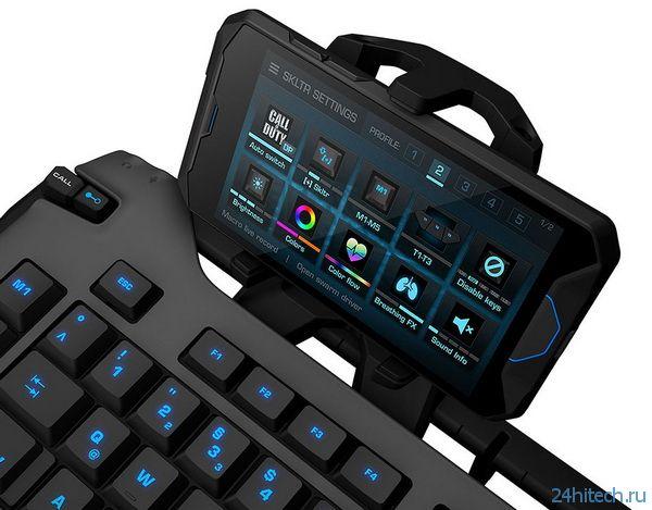 Мышь ROCCAT Nyth и клавиатура Skeltr для MMO-геймеров