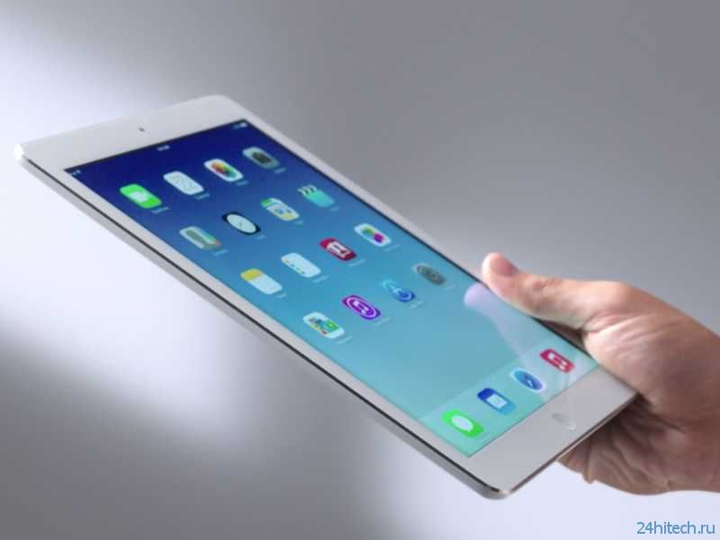 Новая модель планшета Apple iPad Air 2 вдвое больше оперативной памяти