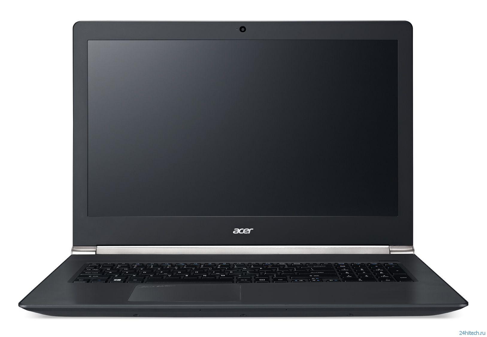 Новые ноутбуки Aspire V Nitro -  впечатляющая производительность