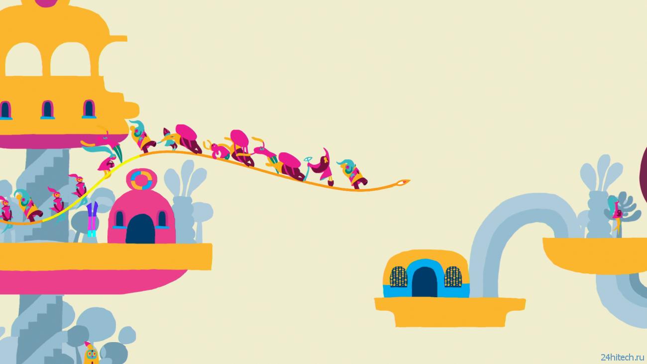 Обзор игры Hohokum: яркое путешествие по фантастическим мирам