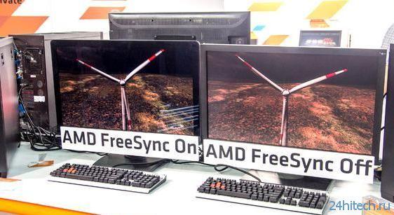 """Первые мониторы с поддержкой технологии """"AMD FreeSync""""появятся уже в начале 2015 года"""