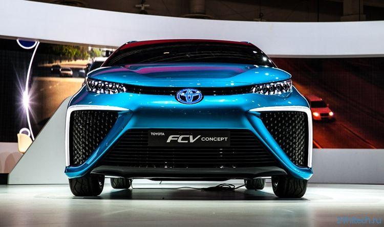 Первый автомобиль Toyota на топливных элементах получит имя Mirai