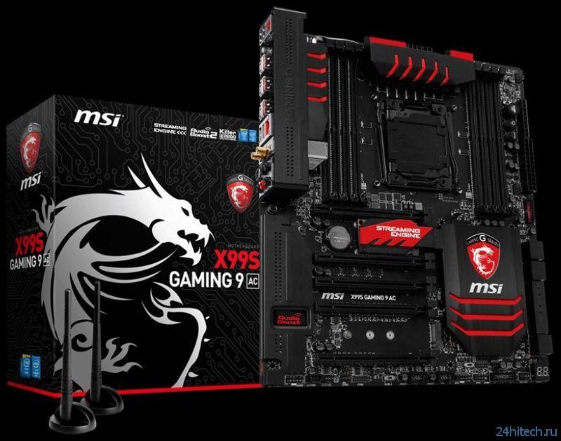 MSI X99S Gaming 9 AC: материнская плата для мощных игровых систем
