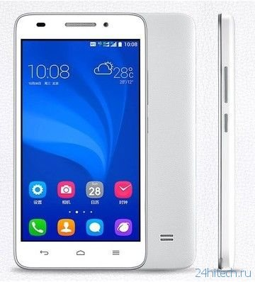 Смартфон Huawei Honor Play 4 с процессором Qualcomm Snapdragon 410