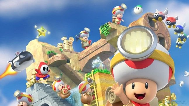Captain Toad : Treasure Tracker for Nintendo Switch - Nintendo Game