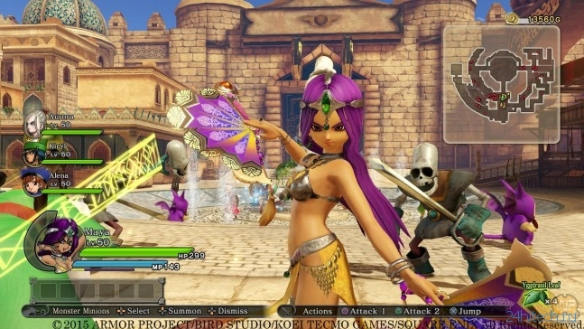Обзор игры Dragon Quest Heroes: The World Tree's Woe and the Blight Below